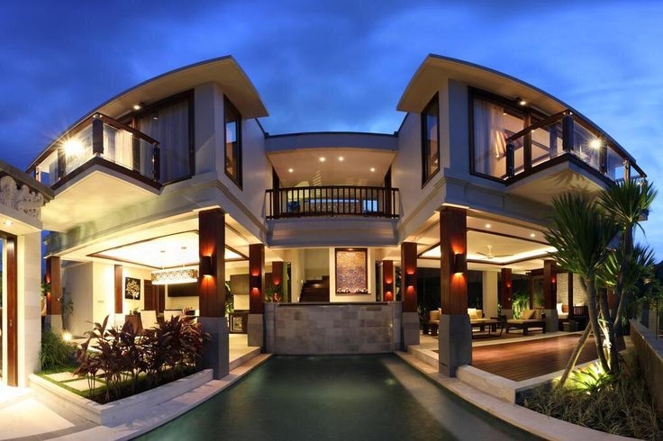 Indonesian villa