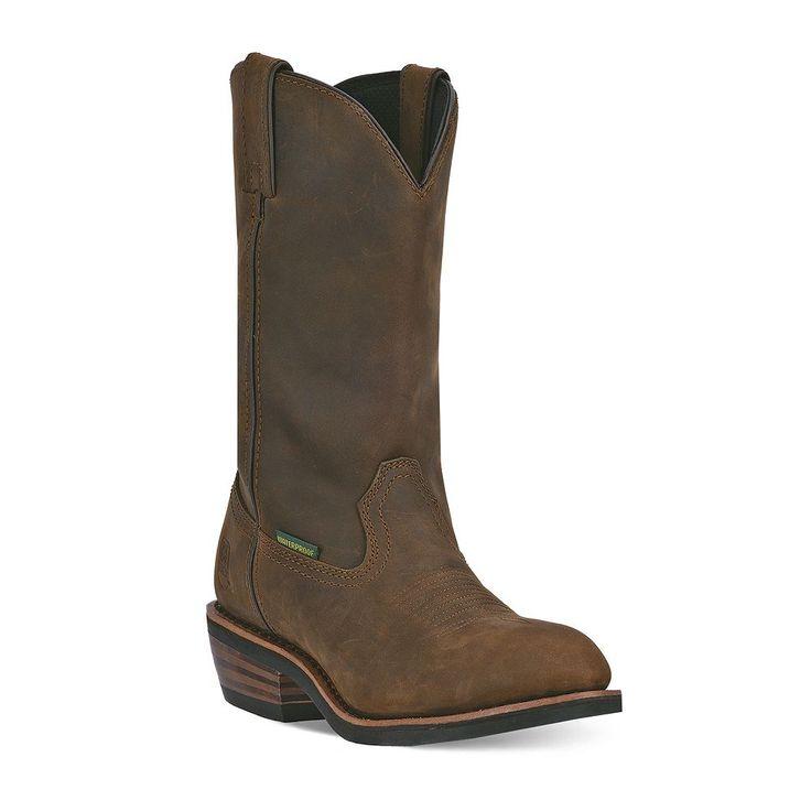 Dan Post Albuquerque Men's Waterproof Steel-Toe Boots, Size: medium (11.5), Brown