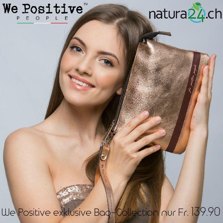 Die Mini-Bag Handtaschen oder Clutch mit der positiven Philosophie werden aus edlem Leder vom Trendlabel We Positive in Italien handgefertigt. Jetzt im Creativa in Aarau erhältlich. #creativa #handtaschen #natura24ch #fashionbag #mussichhaben #musthave #chic #cool #bag #hipster #fashion #clutch #minibag #wepositive #cretiva1001 #handbag #chic #withlove #elegante #style #italy #design #pretty #outfit #baglover #fashionaccessories #glamour #fashiontrends #itbag…