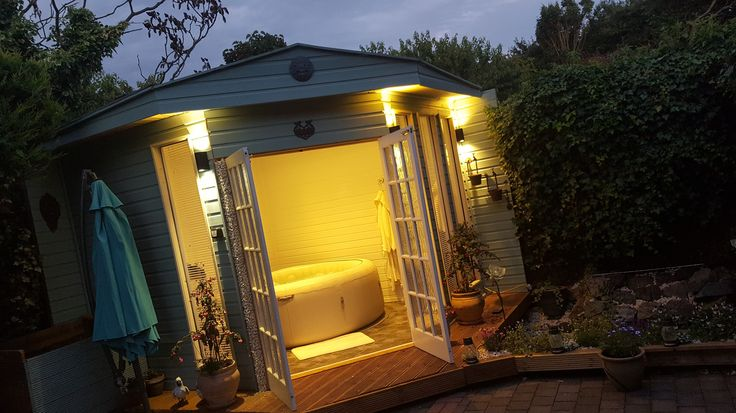 47 Best Lay Z Spa Garden Setup Ideas Images On Pinterest