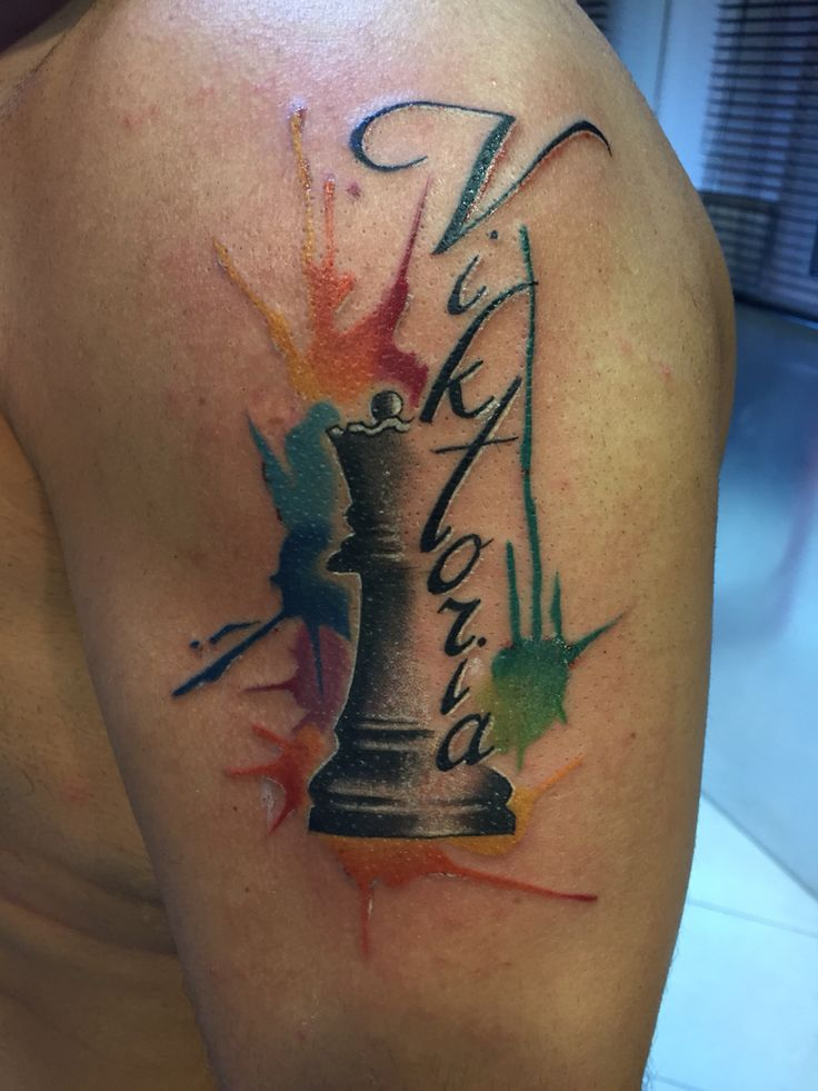 Queen chess name mybabygirl tattooland thessaloniki greece for Tattoo removal in queens
