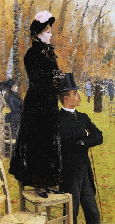 Giuseppe de Nittis (1846-1884) - The races at Auteuil, 1883
