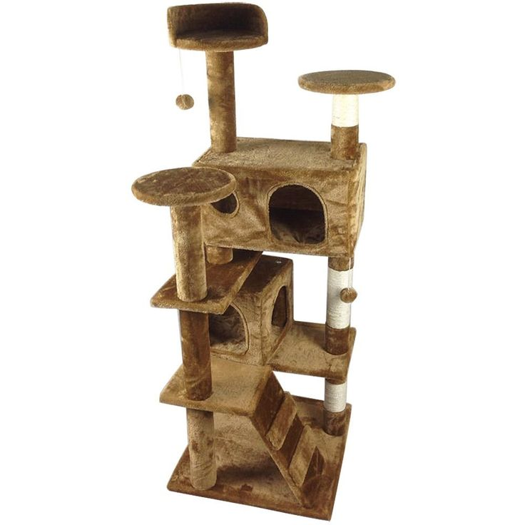 world pride 52u0027 indoor cat treetower cat scratching post activity centre cats house