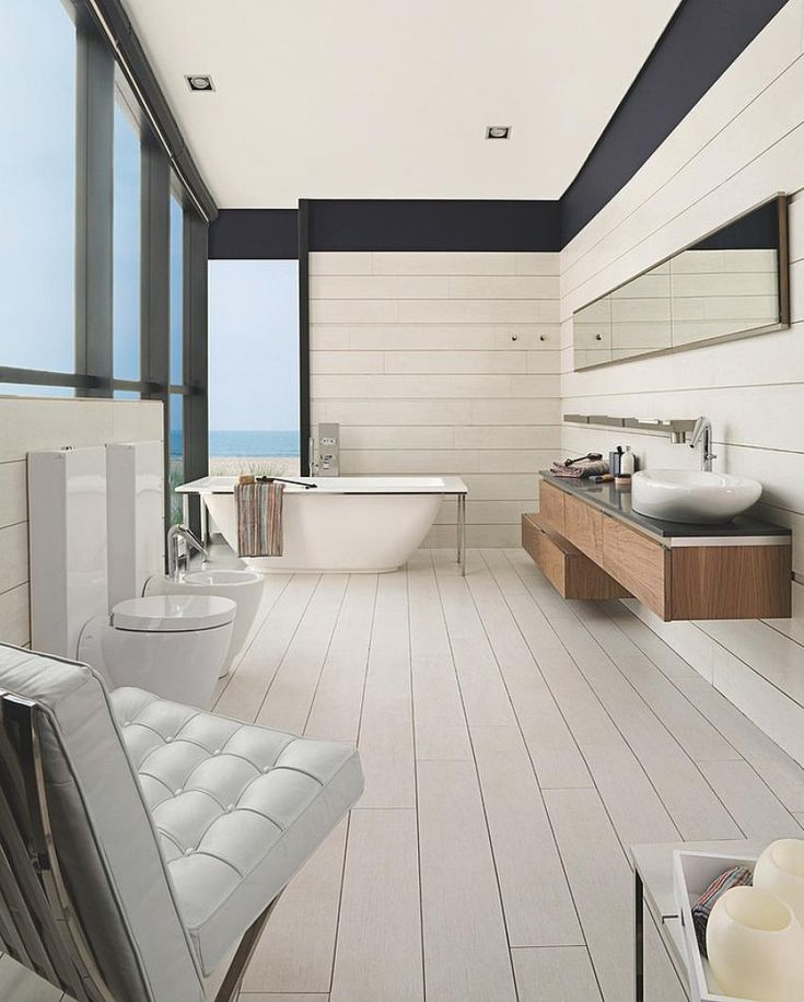 Themsfly Amazing Modern Bathrooms Design by Porcelanosa