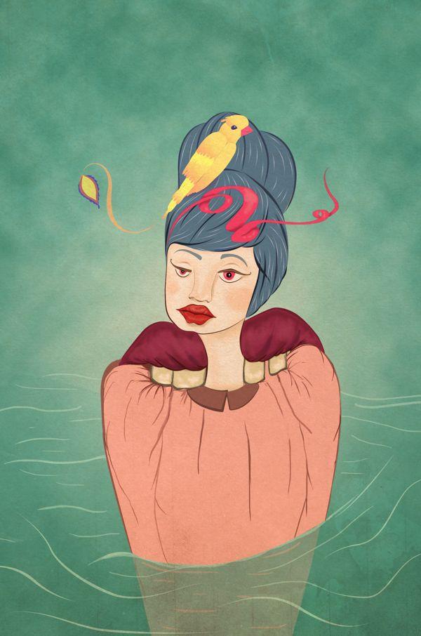 La Gracia. by Juliana Ruiz, via Behance