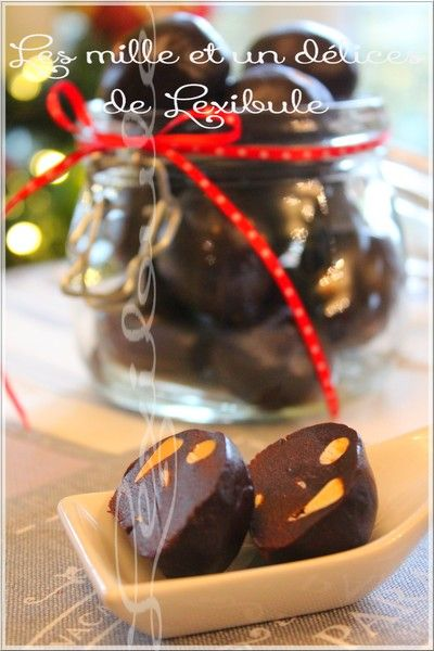 Boules irrésistibles au chocolat