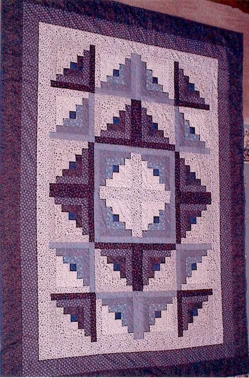 Quilting Ideas | Project on Craftsy: Log Cabin quilt 2003