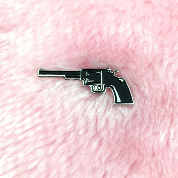 BANG BANG enamel lapel pin!  ☽ Perfect for denim jackets, backpacks, bags, hats or whatever. ✮ Butterfly clasp fastener  ♡ Thanks for visiting