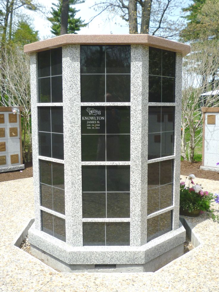 Columbarium Cremation Niche In S24 Cathedral Pines