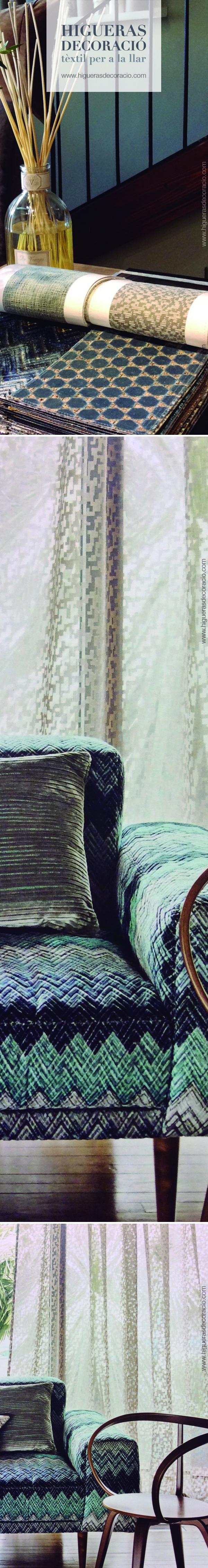 complementa una estancia con elementos decorativos diferentes pero con en la misma gama de color