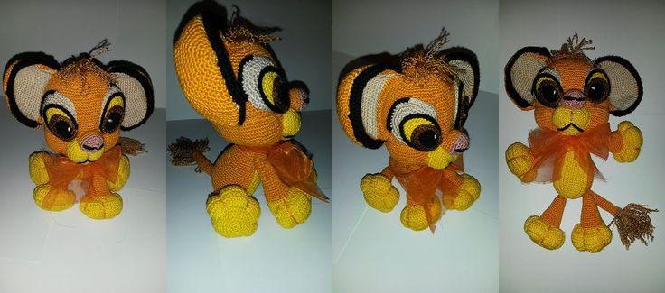 Simba - crochet