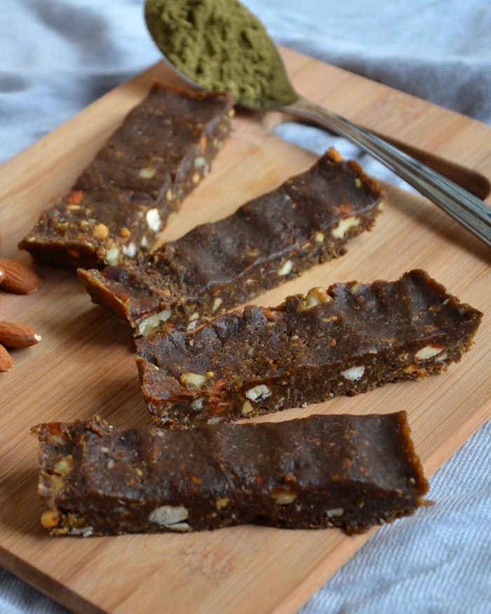 No-Bake Vegan Hemp Protein Bars | Recipe | Food | Hemp