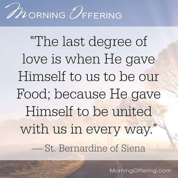 @Regrann from Morning Offering –  #Jesus unites Himself to us in love in the #Ho… – Henry J Daniels