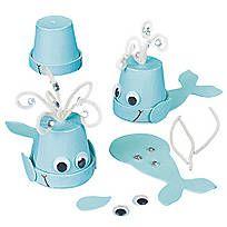 Flowerpot Whale Craft Kit - 48/3798