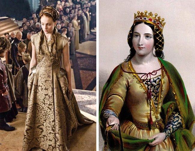 Ana Neville, hija y heredera del conde de Warwick, se casó por primera vez a la tierna edad de 14 años: se convirtió en esposa de Eduardo de Westminster, hijo de Enrique VI. Unos meses después de la boda, su marido fue asesinado en una batalla. En 1472, se casó con el futuro Ricardo III de Inglaterra: esto tenía que asegurar su riqueza y las tierras para la casa de los York