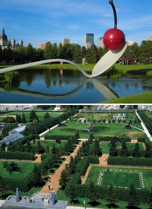 El Jardín de Escultura Minneapolis – EUA