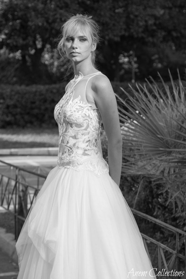 Romantic bride! Dreamy and luxurious wedding dress by Anem- Anna Anemomilou from a styleshooting at the heart of Athens! Amazing wedding photography and total romantic mood! www.anemcollections.gr