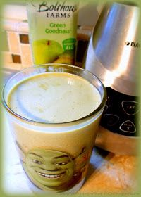 I love Bolthouse Farms fruit juice smoothies ~ especially when I can find them for a great deal at the market. Green Goodness is my f...
