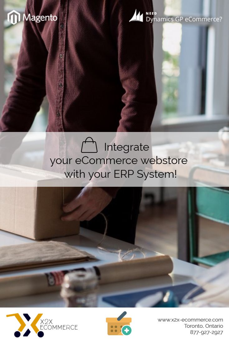 Why is it important to integrate your eCommerce webstore with your existing ERP System?  Checkout Microsoft Dynamics GP integration with Magento on storefront!