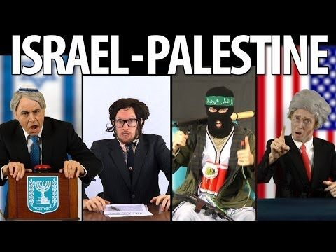 Israel vs Palestine - feat. DAM & Norman Finkelstein [RAP NEWS 24]  RiseUpTimes.org  A quick look through satire re the key issues around the Palestine/Israel conflict.