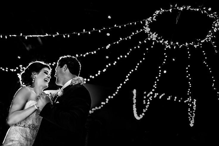 First dance with twinkle lights (photo credit Two Mann Studios), Cornerstone Theatre, Canmore, AB