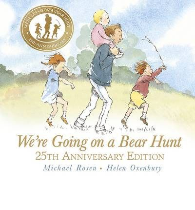 For brave hunters and bear-lovers, the classic chant-aloud by Michael Rosen and Helen Oxenbury in a beautiful 25th-anniversary edition.