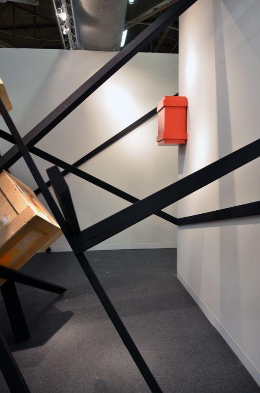 Serge Alain Nitegeka redefines space at Marianne Boesky. Video Interview on #galleryIntell