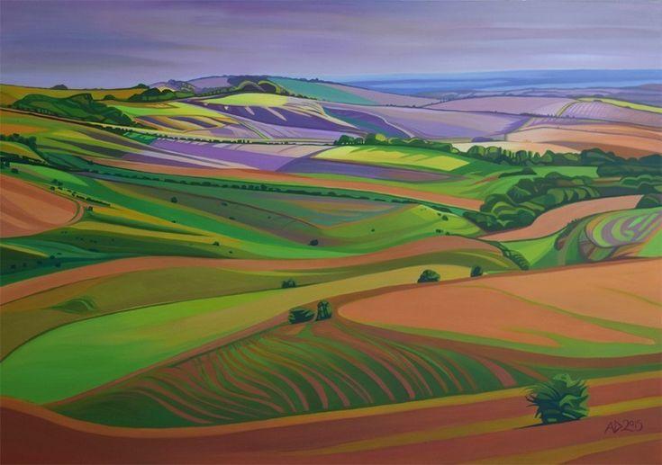Calstone Down, by Anna Dillon