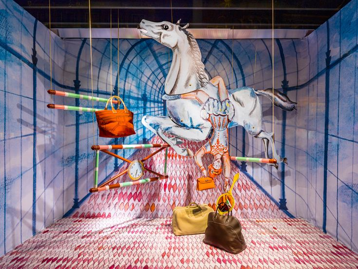 kiki van eijk: hermès shop windows