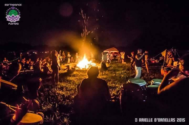 Earthdance Florida Sacred Fire & Drumcircle - bungalower