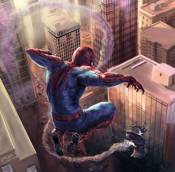 Эпичные картинки с человеком пауком