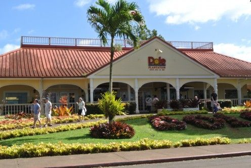 Cool place to visit on your way to the #NorthShore #Hawaii The entrance to the Dole Pineapple Plantation in Oahu, Hawaii