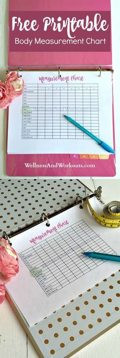 This free printable body measurement chart will help your fitness motivation as you do your T-Tapp workouts, or any effective workouts! Taking weekly measurements is what kept me going as I lost 41 inches in my first few months using T-Tapp. Click to print yours now!