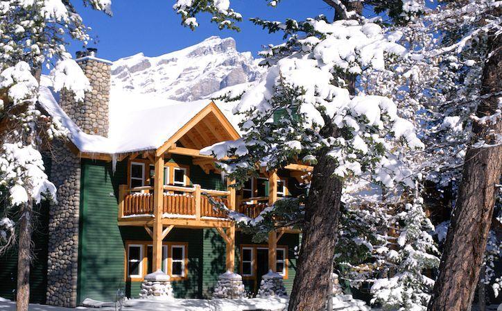 Buffalo Mountain Lodge at Banff - Accommodation at the Buffalo Mountain Lodge in Banff, Alberta, Canada