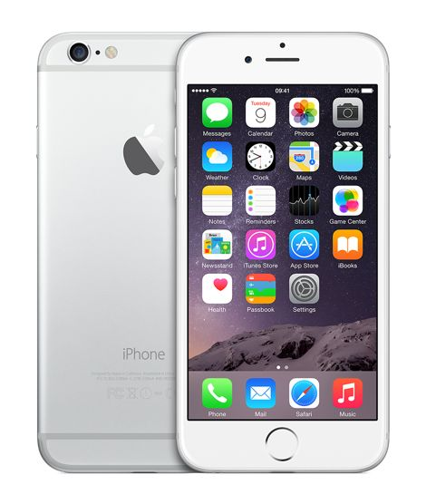 iPhone 6 64GB Silver - Apple Store (UK)