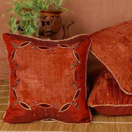 Arabian Velvet Decorative Throw Pillows Pillows