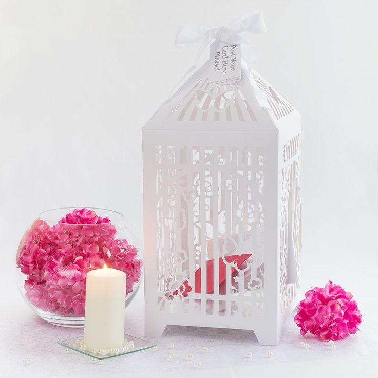 Feiert Ihr eine #Sommerhochzeit mit Schmetterlingen als Thema? Wie wäre es dann mit dieser tolle #Briefbox für die Wünsche Eurer Gäste? https://www.meine-hochzeitsdeko.de/briefbox-hochzeit-kaefig-schmetterling