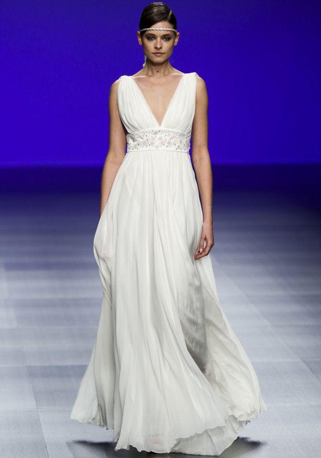 Robe de mariée empire Cymbeline 2016