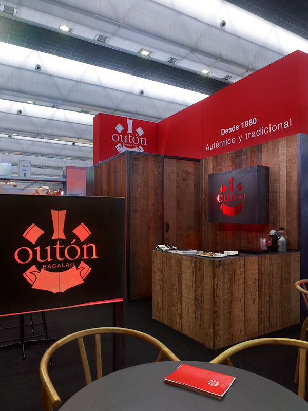 Stand Exhibition conxemar bacalao outon codfish by indigoarquitectura