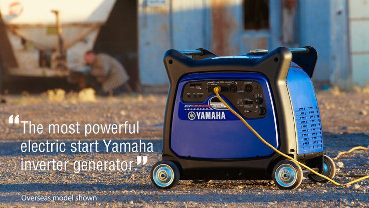 The best generator in its class; the Yamaha 6300w inverter generator