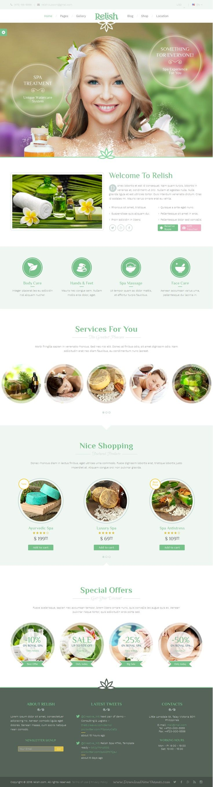 Relish is a beautiful and clean Bootstrap HTML template, suitable for a wide…