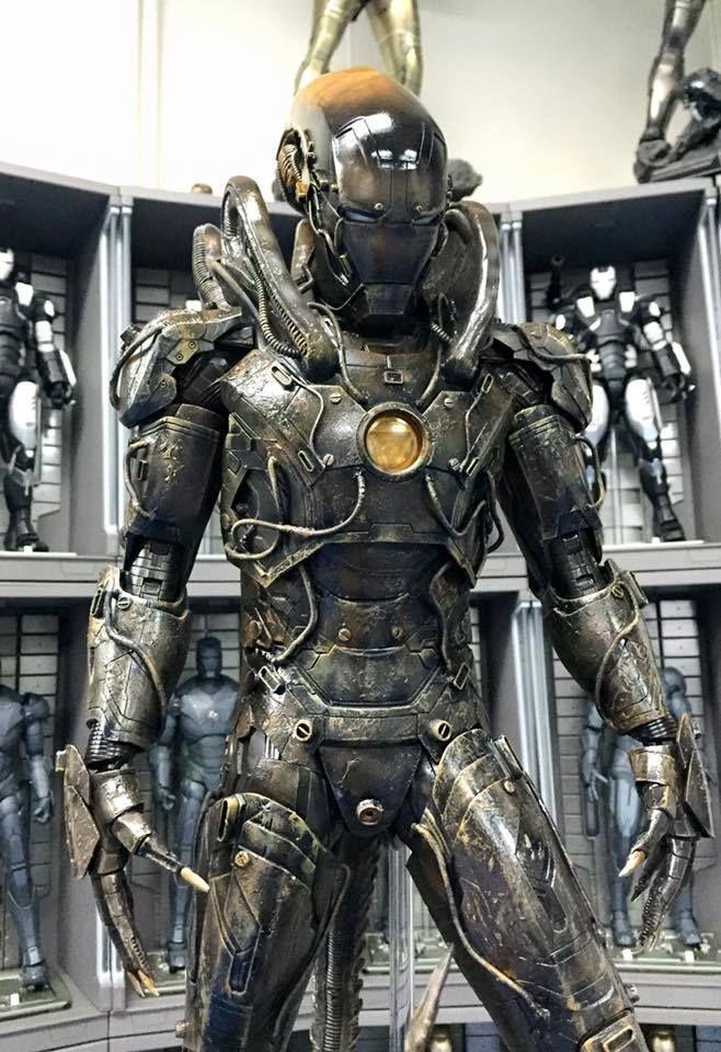 Iron Man Xenomorph 1
