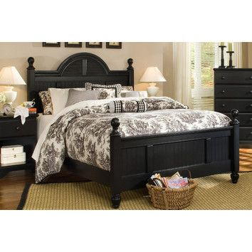 Carolina Furniture Works, Inc. Midnight Panel Bedroom Collection