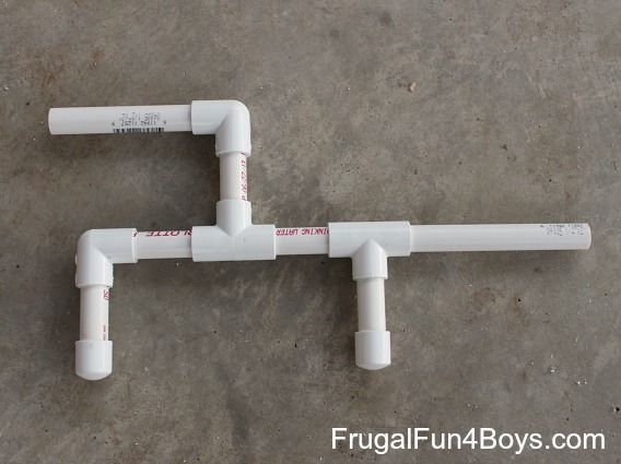 how to make a dart gun out of pvc pipe