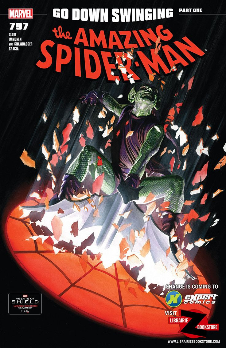 eXpertComics offers a wide choice of products, like the Amazing Spider-Man (Vol. 5) #797. Visit eXpertComics' website to discover thousands of collectibles.