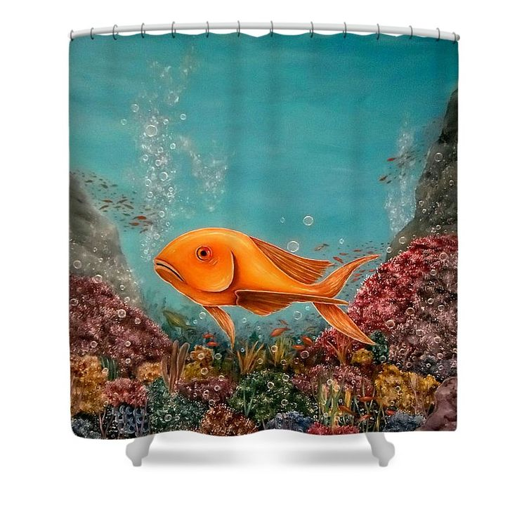 Shower Curtain,  bathroom,accessories,unique,fancy,cool,trendy,artistic,awesome,beautiful,modern,home,decor,design,for,sale,unusual,items,products,ideas,blue,turquoise,fish,corals,bubbles,ocean,underwater