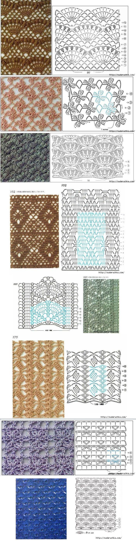 #crochet stitches...  #afs 19/5/13