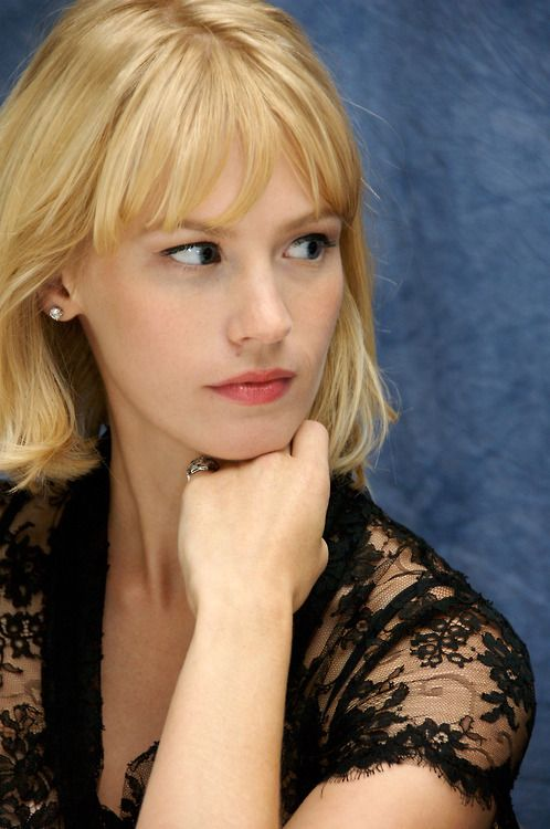 January Jones | Pretty makeup