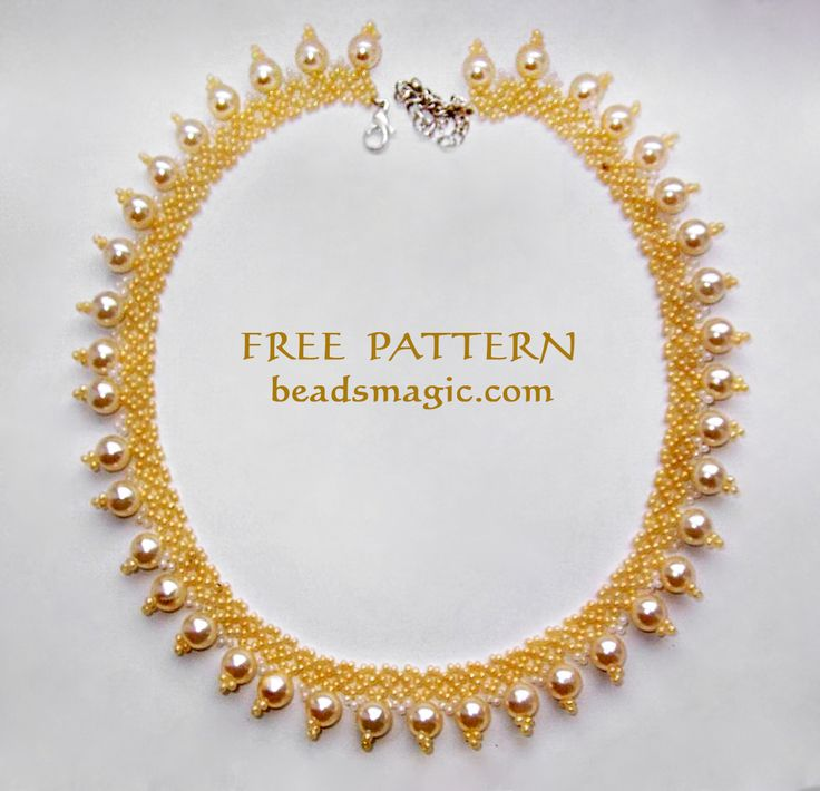 Free pattern for necklace Sun Island   Beads Magic   Bloglovin'