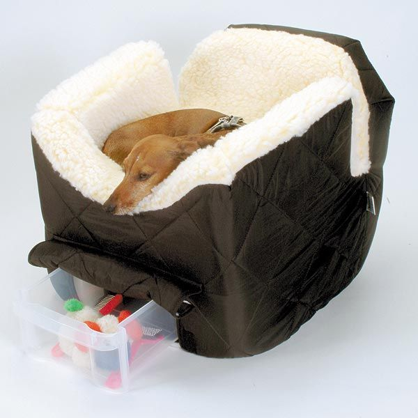 Deluxe Lookout Car Seat For Dogs and Cats